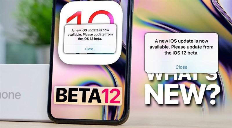 Apple tung bản cập nhật iOS 12 beta mới, sửa lỗi liên tục thông báo cập nhật