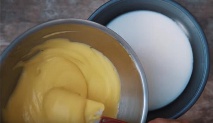 trộn đậu xanh vào bột