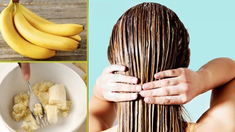 Chuối có tác dụng kích thích mọc tóc