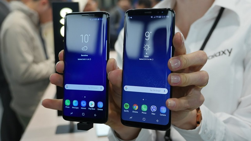 Galaxy S8 Plus vs S9