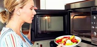 Thời gian lý tưởng hâm nóng thức ăn bằng lò vi sóng chuẩn nhất