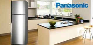 Cách sử dụng bảng điều khiển tủ lạnh Panasonic ngăn đá trên