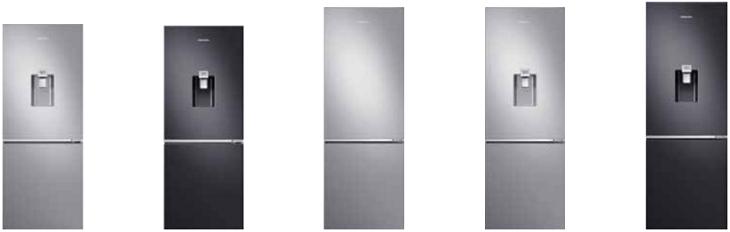 kiểu tủ lạnh ngăn đá dưới samsung đẹp