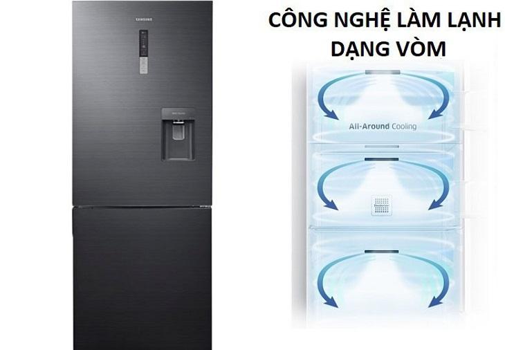 Công nghệ làm lạnh vòm tủ lạnh samsung