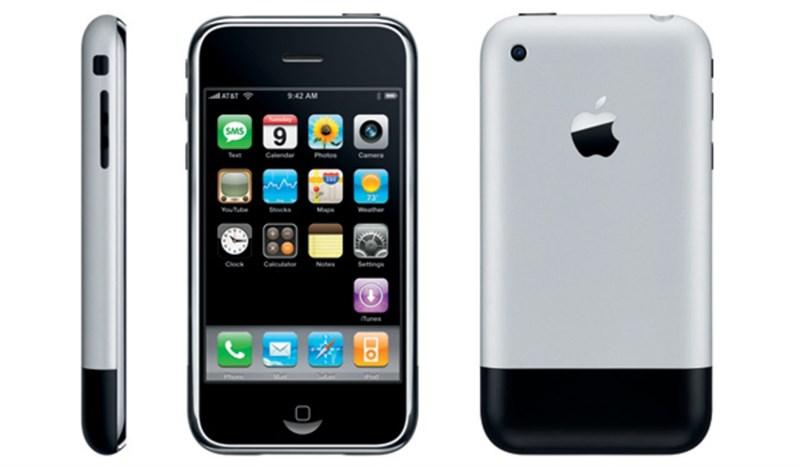 iPhone 2G ra mắt cùng khẩu hiệu Đây mới chỉ là sự khởi đầu