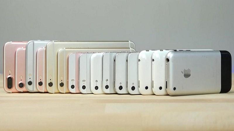 Tóm tắt lịch sử iPhone của Apple từ năm 2007 đến 2018