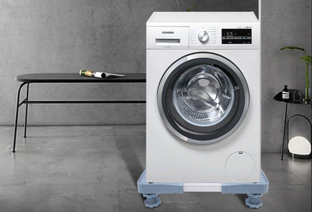 Chọn chân đế tùy theo kích cỡ và khối lượng của máy giặt