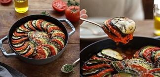 Cách làm rau củ đút lò phô mai