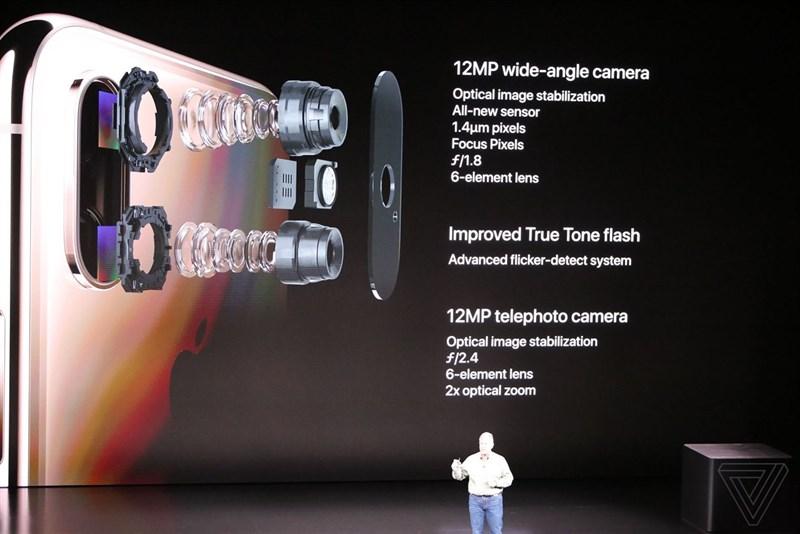 Kết quả hình ảnh cho camera của iphone xs max