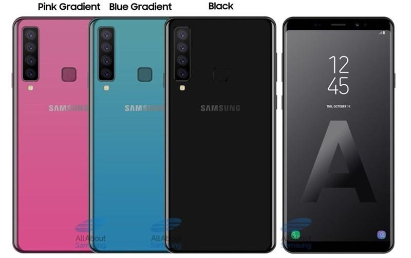 Galaxy A9 Pro 2018 sẽ là smartphone Samsung đầu tiên dùng chip Snapdragon 710