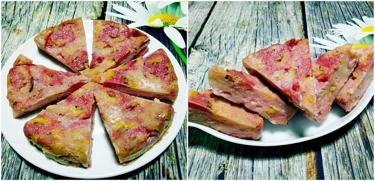 Bánh chuối nướng bằng lò nướng