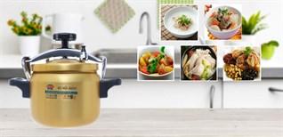 Thời gian nấu từng loại món ăn bằng nồi áp suất cơ