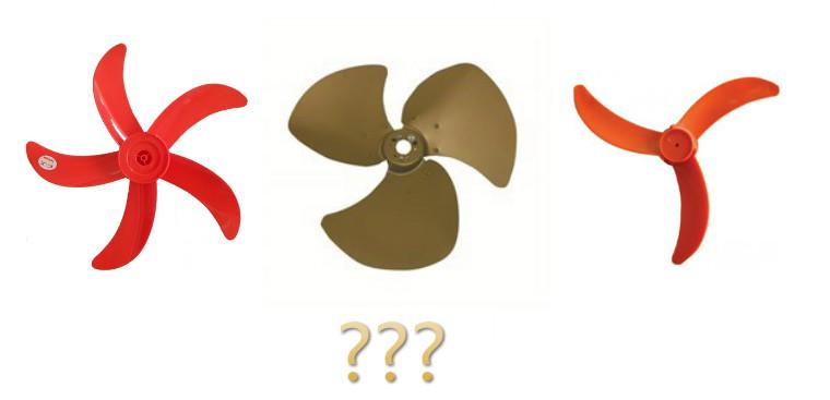 Có những loại cánh quạt điện nào, dùng loại nào phù hợp nhất?