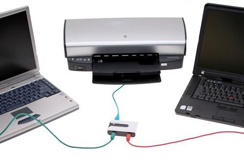 Kết nối máy in với máy tính