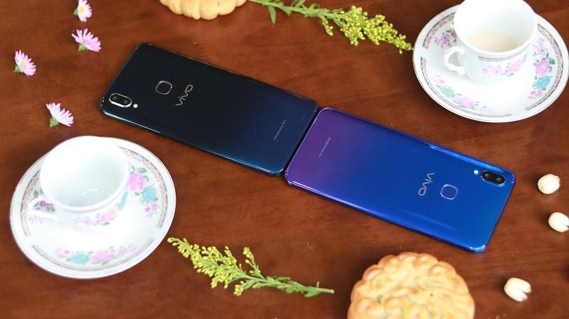Vivo V11i màn hình giọt nước, camera kép AI đã có máy trải nghiệm tại siêu thị TGDĐ