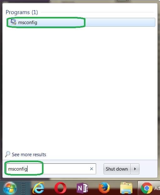 Bước 2: Sửa lỗi máy không nhận đủ RAM Vào Windows, trong menu Start ==> Run ==> gõ msconfig và nhấn Enter