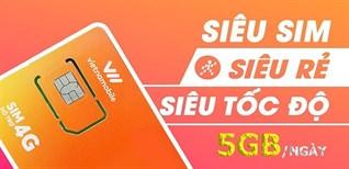 Siêu sim 4G Vietnamobile - 5 GB/ngày chiến game, lướt Facebook phủ phê, còn miễn phí cuộc gọi