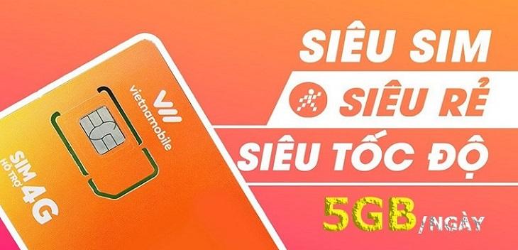 Siêu sim 4G Vietnamobile với ưu đãi cực khủng lợi ích khó cưỡng