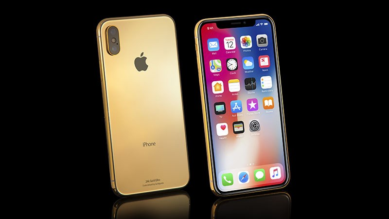 iPhoneX-Gold