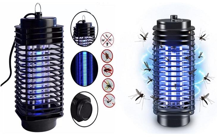 Đèn bắt muỗi có tốn điện không, có an toàn không?