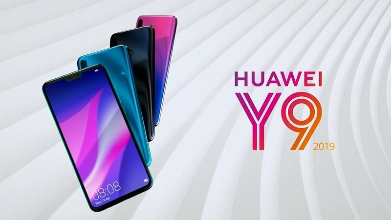 Huawei Y9 (2019) ra mắt: Smartphone 4 camera dành cho giới trẻ