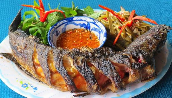 Bước 5 Thành phẩm Nướng cá bằng lò vi sóng