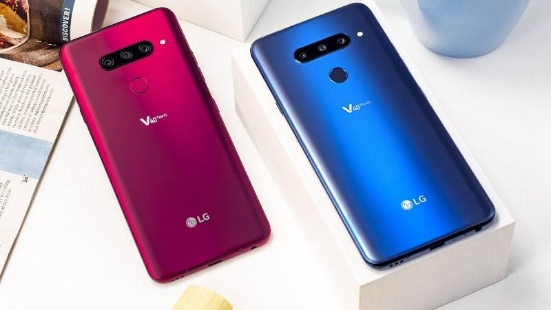 LG V40 ThinQ trình làng: Màn hình OLED, 5 camera, zoom quang 3x, chống nước IP68