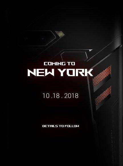 ASUS ROG Phone sẽ ra mắt tại New York vào ngày 18/10