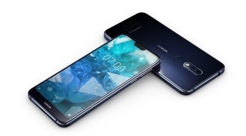 Nokia 7.1 trình làng: Camera kép, màn hình HDR10, chạy Android gốc