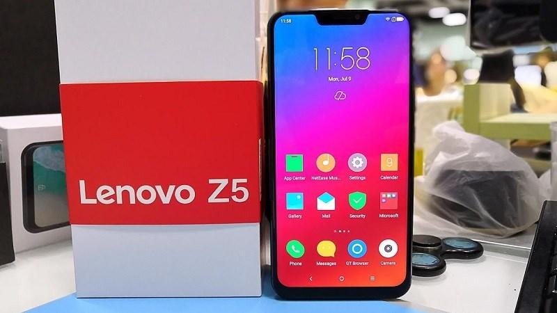 Lenovo Z5 có thể sẽ được bán ở thị trường quốc tế