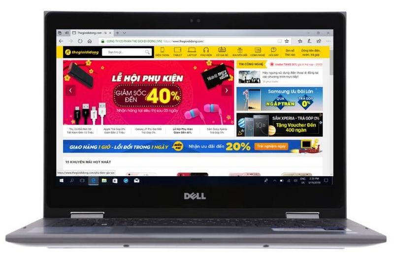Mua laptop cuối tuần nhiều ưu đãi hấp dẫn, tặng PMH 1 triệu đồng