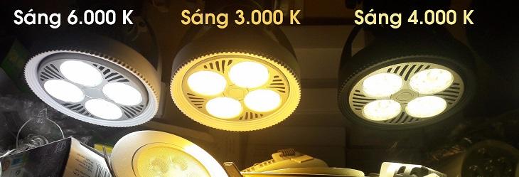 Ánh sáng vàng và ánh sáng trung tính sẽ mang lại cảm giác dịu nhẹ cho mắt và không chói lóa như ánh sáng trắng