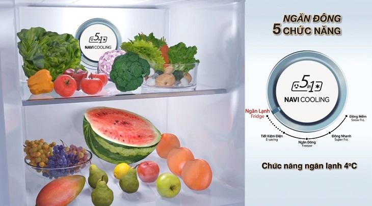 Bạn đã biết về ngăn đông 5 chức năng trên tủ lạnh Aqua