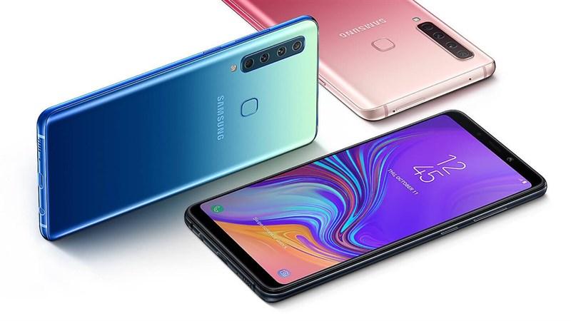 Galaxy A9 (2018) trình làng: Smartphone 4 camera sau đầu tiên trên thế giới