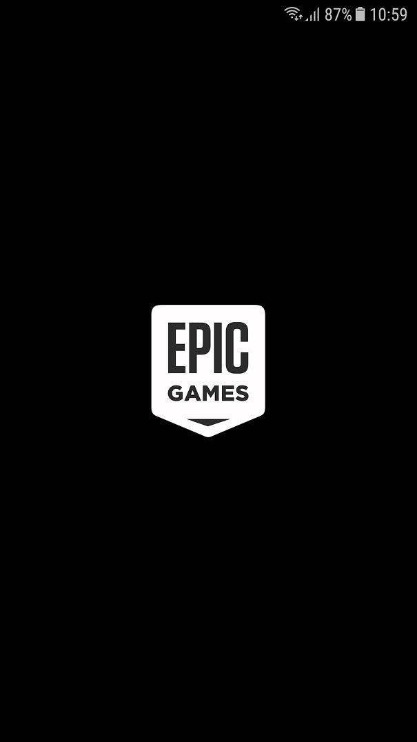 Đã vào được hệ thống cài đặt của Epic Games