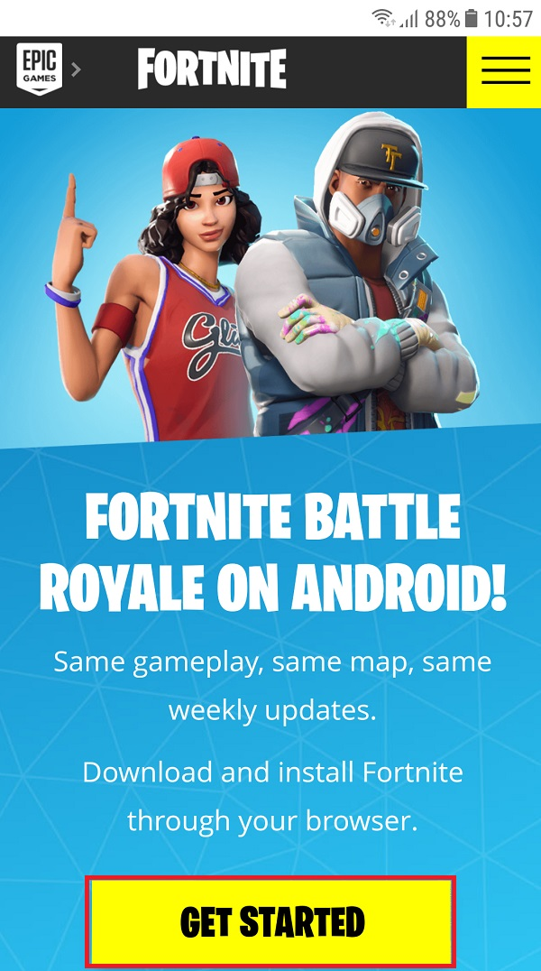 Tải Fortnite Android