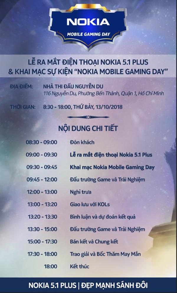Ngày mai, Nokia 5.1 Plus sẽ ra mắt tại Nokia Mobile Gaming Day - ảnh 2