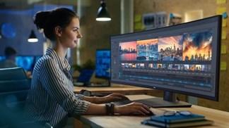 Dell giới thiệu màn hình 49 inch với độ phân giải 5.120x1.440 pixel