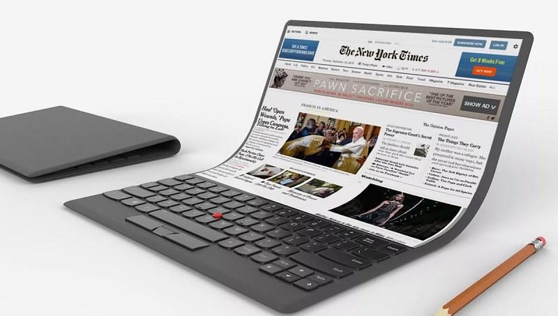 Lenovo và LG hợp tác để sản xuất tablet màn hình gập