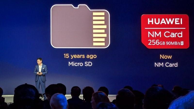 Thẻ NM là gì? Nano Memory khác gì microSD?