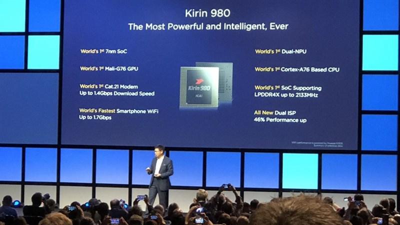 Chip Kirin 980 7nm trên Mate 20 Pro mạnh cỡ nào khi so với chip khác?
