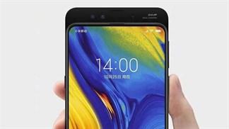 Xiaomi Mi MIX 3 có thể quay video siêu chậm 960fps