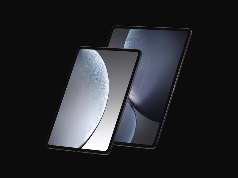 Xuất hiện render iPad Pro 2018 trước ngày ra mắt vào 30/10 tới