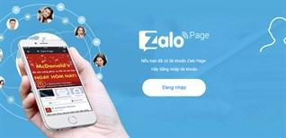 Cách đăng nhập Zalo bằng Facebook không cần mật khẩu