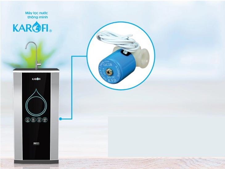 Kiểm tra van điện tử máy lọc nước