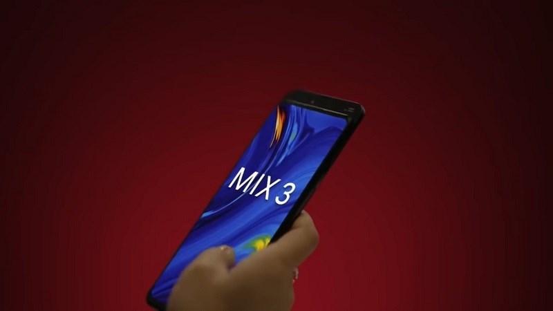 Những thông tin chính thức của Mi MIX 3