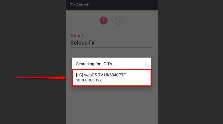 Cách điều khiển smart tivi LG 2018 bằng điện thoại