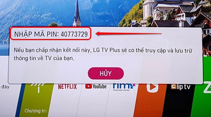 Mã Pin trên tivi