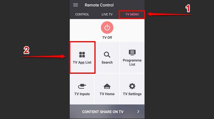 Chon TV Apps List