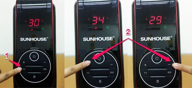 Chức năng điều chỉnh nhiệt độ